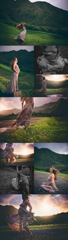 Wilderness afoot - barefoot and pregnant in the muddy mountains of Oahu.