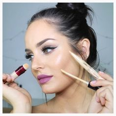 Youtube beauty guru Chloe Morello knows the best beauty hacks. She loves using Maybelline concealers to sharpen her winged eyeliner, highlight and contour, and define her brows. How do you hack concealer?