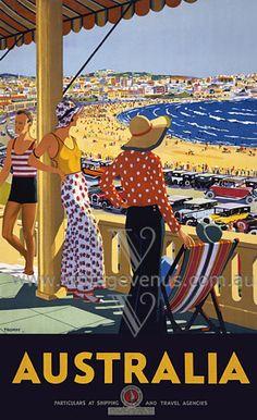 I think it's Bondi Beach in the 30s