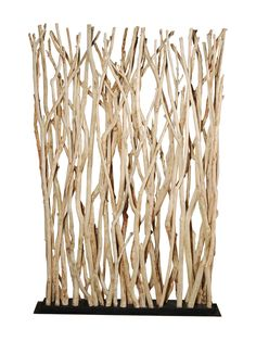 Bleached Branch Screen, Wood, Indoor use only from Into the Woods: Furniture & Accents on Gilt