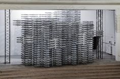 Chinese Artist Ai Weiwei Uses 760 Bicycles to Create Massive Sculpture : TreeHugger