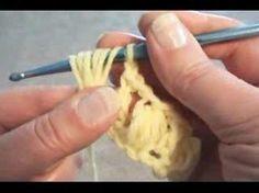 Crochet: Puff stitch (video)