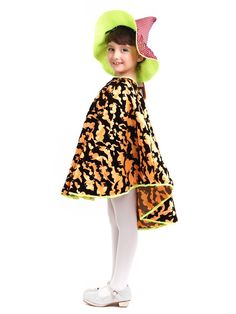 amazoncom magic town batgirl kids halloween costumes witch hat and cloak capes - Kids Halloween Costumes Amazon