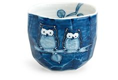 Boulder Owl Teacup From the Home Decor Discovery Community At www.DecoAndBloom.com