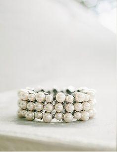 Pearl wedding band