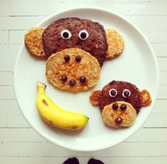 13 doable plates of food shaped like animals
