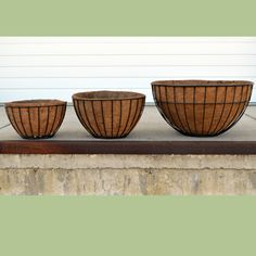 Coco Fiber Liner for Welcome Planter, 17 Inch London Basket, or 20 Inch Hanging Sphere Fertilizer For Plants, Basket Liners, Patio Plants, Hanging Baskets, Container Gardening, Decorative Bowls, Fiber, Planters, Backyard