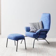 Hem - Hai Lounge Chair - Razzle Dazzle Blue   Hem   Luca Nichetto