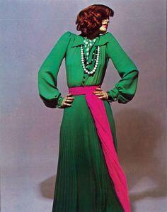 Saint Laurent Vogue Paris 1972