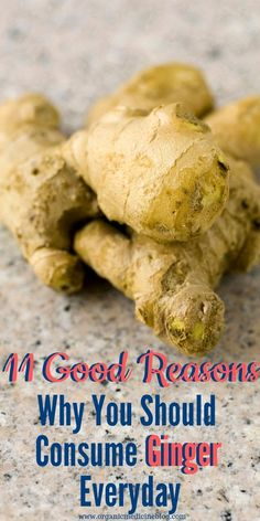 Ginger is commonly used as a spice in foods to enrich its special exotic flavor. However, this herb has incredibly powerful healing properties. Add it to your lunch or dinner. Natural Health Remedies, Natural Cures, Natural Healing, Herbal Remedies, Holistic Remedies, Health And Wellness, Health Fitness, Holistic Wellness, Holistic Approach
