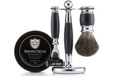 What to Get Your Dad for the Holidays: The 30 Greatest Gifts for Guys Cole Haan x New York Shaving Co. Shaving Set, $175. colehaan.com.