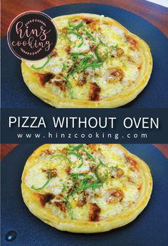 Today sharing tawa pizza recipe without oven and yeast. Its a desi style pizza on tawa (skillet /pan). So if you are looking how to make pizza on tawa. Pakistani Chicken Recipes, Indian Food Recipes, Asian Recipes, Pakistani Recipes, Healthy Recipes, Pizza Recipe Without Oven, Cake Recipes Without Oven, Veg Pizza, Chicken Pizza