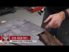 Project Truck Restoration – Tech Tips: Scribing Before Cutting Metal – Classic Auto Insurance – insurance quotes Classic Car Insurance, Home Insurance, Classic Cars, Classic Auto, Classic Car Restoration, C10 Trucks, Antique Trucks, Insurance Quotes, Collector Cars