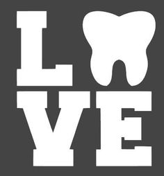 Love Car Decal Sticker Bumper Window Tooth Decal RDH DDS DH Dental Dentist Dental Hygienist Student Graduation Dental Assistant Tooth Fairy - Cosas Que Hacer Para Una Boca Sana Dental World, Dental Life, Dental Art, Dental Health, Oral Health, Dental Group, Dental Quotes, Dental Humor, Dental Hygienist