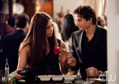 """""""Under Control"""" - Pictured (L-R) Nina Dobrev as Elena, Ian Somerhalder as Damon in THE VAMPIRE DIARIES on The CW.  Photo: Bob Mahoney/The CW  ©2010 The CW Network, LLC. All Rights Reserved."""