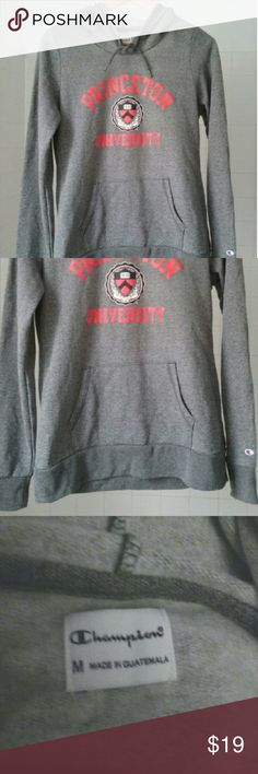 NWOT Officual Princeton University Hoodie Size Med Asked my husband to get me a souvenier, and turns out their size medium runs a bit too small for me! Super soft and cozy material. New without tags! Champion Tops Sweatshirts & Hoodies