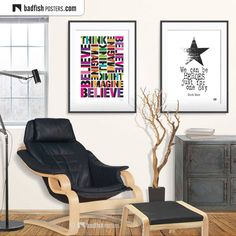 Poster S, Typography Poster, David Bowie, Fisher, Believe, Right To Choose, Alternative Movie Posters, Think, Unique Art
