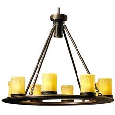 Kichler Lighting Low Voltage Outdoor Chandelier | 15402OZ | Destination Lighting