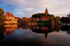 Mölln Germany Travel, Big Ben, Building, Kirchen, Life, Hotels, Vans, Castle Homes, Medieval Town