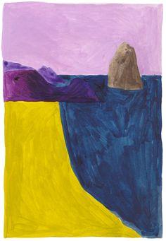 Léa Maupetit - Purple landscape