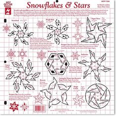 Some new templates have arrived at Custom Quilling, four are the new larger 12 x 12 size.    This one of snowflakes is so awesome! Can't you...