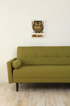 Night and Day Convertible Sofa - Lime. Urban Outfitters. $589