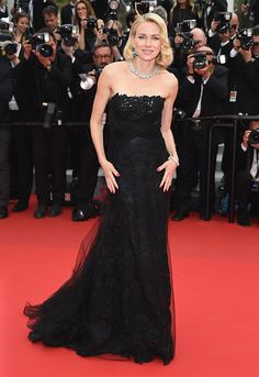 Naomi Watts attends the 'Mad Max : Fury Road' Premiere during the 68th annual Cannes Film Festival on May 14, 2015 in Cannes, France. (Photo by Venturelli/WireImage)