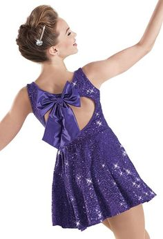 Weissman™ | Sequin Back Bow Dress