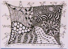 Creatief met (kleur)potlood en/of stift!: art-tangle-club