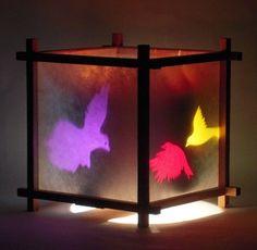 Birds shadow lamp