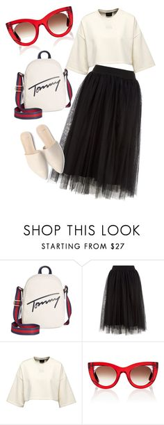 """""""весеннее настроение"""" by irina-glad ❤ liked on Polyvore featuring Tommy Hilfiger and Thierry Lasry"""