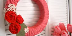 Valentine's Day Simple Wreath