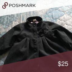 H&M Coat Gray pea coat size 12-18 months H&M Jackets & Coats Pea Coats