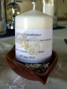 Remembrance candle  Photograph by Cherry Thatcher