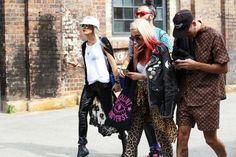 Street style at Australian fashion week MBFWA 2014