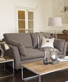 Alana Two Seat Linen Sofa from Lombok Furniture