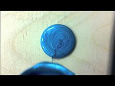 Video demonstrating the effects of Pebeo Fantasy Moon Craft Paints.