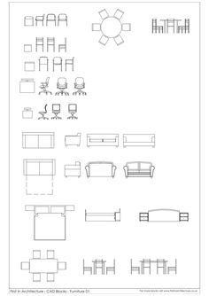 Free Furniture Cad Blocks