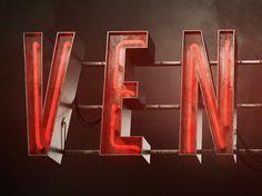VENICE - 3D Neon sign on Behance