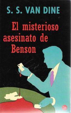 El Misterioso Asesinato de Benson, S.S. Van Dine