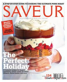 Saveur Cover Dec. 2009