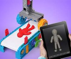 Get your child started on their graphic designer career from an early age with the Play-Doh 3D printer. Using a standard iPad, they'll be able to create anything their young minds can imagine - then have it appear right before them as they're printed in Play-Doh. Buy It $49.99 via ThinkGeek.com