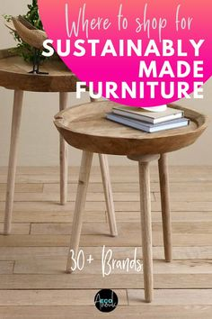 selecting furniture for your home can be a scary task. These are expensive pieces that you can't really buy on a whim. And there are the particularly important questions: Are they ethically and sustainably made furniture brands? Are they environmentally sustainable? How can one tell? #furniture #sustainable #ecofriendly #home