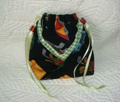 SALE  Get this for yourself or the golfer in your family to carry keys, phone, wallet.  Golf Z'Bag by shoesies4u on Etsy, $10.00