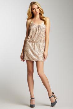 Stretch Sequin Cami Dress on HauteLook