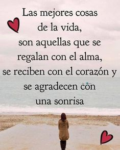 La imagen puede contener: una o varias personas, océano y texto Positive Phrases, Motivational Phrases, Inspirational Quotes, Positive Messages, Sun Gazing Quotes, Miss You Images, Chanel Quotes, Quotes En Espanol, Happy Wishes