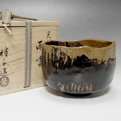 "Koetsu ""Amagumo"" Chawan by Ito Keiraku for sale"