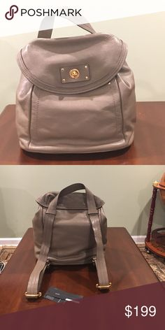 Marc by Marc Jacobs puma taupe backpack Marc by Marc Jacobs backpack in color puma taupe. New with tags. Genuine Italian leather. Marc by Marc Jacobs Bags Backpacks