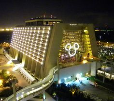 Disney's Contemporary Resort. Walt Disney World Resort, Bay Lake, Florida, United States of America.