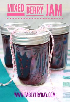 Canning 101 and a Mixed Berry Jam recipe from Ball® Home Canning Ball Canning Recipe, Canning Tips, Home Canning, Canning Recipes, Mixed Berry Jam, Mixed Berries, Canned Foods, Freezer Jam, Balls Recipe